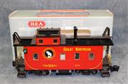 R.E.A. Great Northern Long Caboose - Model # REA-42101